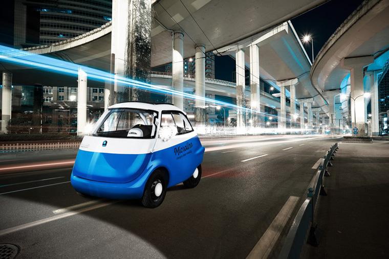 MIC elektrisches Mikroauto für die Stadt