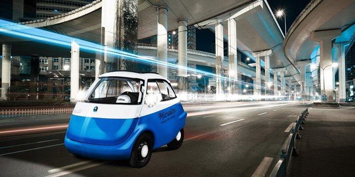 Das kleine Elektroauto für die Stadt