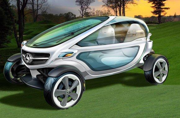 Mercedes-Benz: Der neue Golf Cart der Zukunft