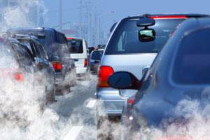 Stau fördert CO2-Emissionen