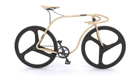 Rapid Design: Holz-Revolution von Thonet jetzt auf zwei Rädern