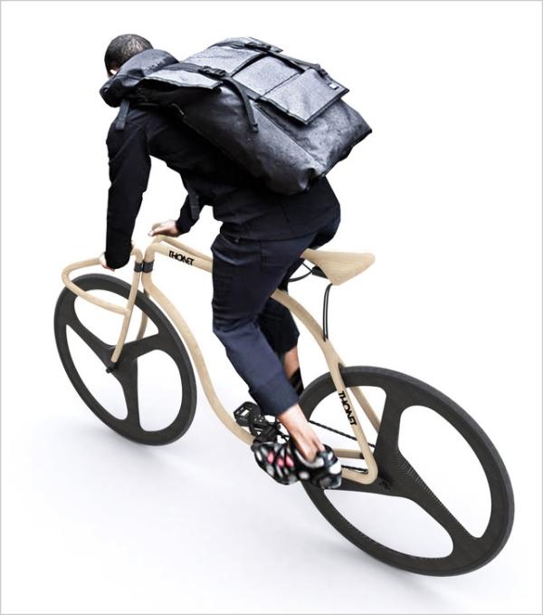 Thonet-Bike nach Entwürfen von Andy Martin: Luxusrad aus Holz