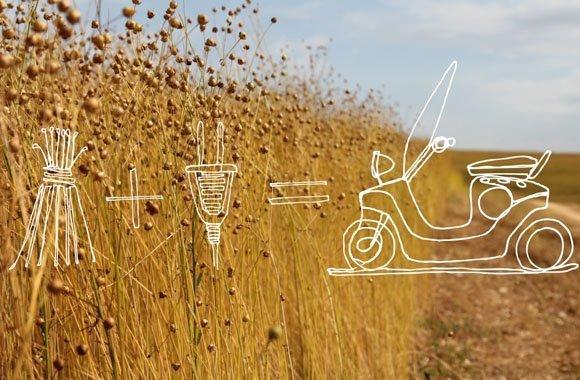 Eco Revolution E-Scooter aus Pflanzenmaterial