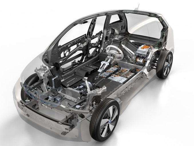 Durch den Elektroantrieb bieten sich viel mehr Freiräume bei der Gestaltung des Autos