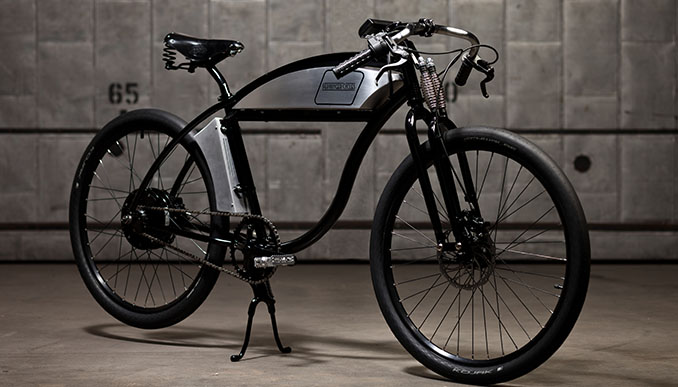 pedelec derringer ebike im retro design. Black Bedroom Furniture Sets. Home Design Ideas