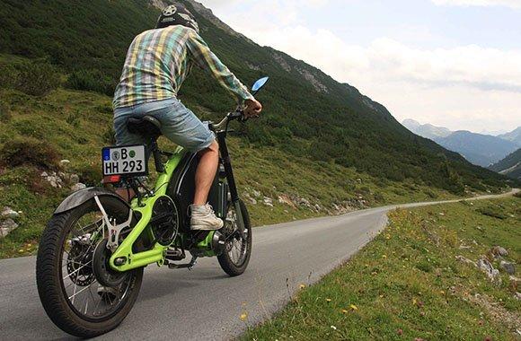 eRockit Elektromotorrad leistungsstark und umweltschonend