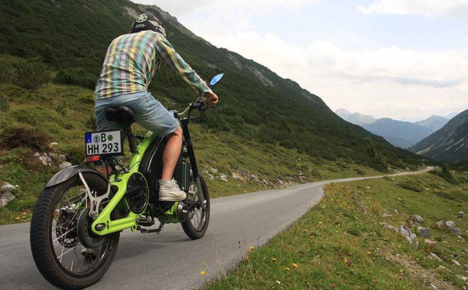 Abenteuer erleben mit dem eROCKIT Elektromotorrad von ©eROCKIT
