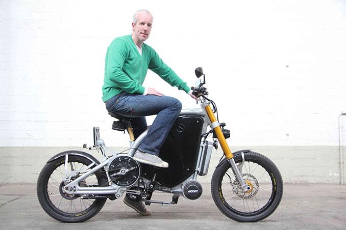 Stefan Gulas: Der Macher der eROCKIT-Bikes © eROCKIT