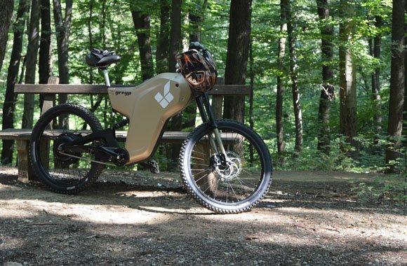 Greyp G 12 - Hochleistungsbike mit Elektroantrieb