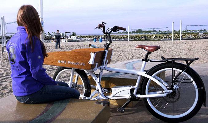 Für den Outdoorbereich einfach geschaffen. Das Pickup Cycle ist stabil und bietet ein gutes Fahrgefühl © NTS Works