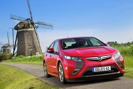 Opel baut die meisten grünen Umwelteffizienz-Fahrzeuge von A+ bis C.
