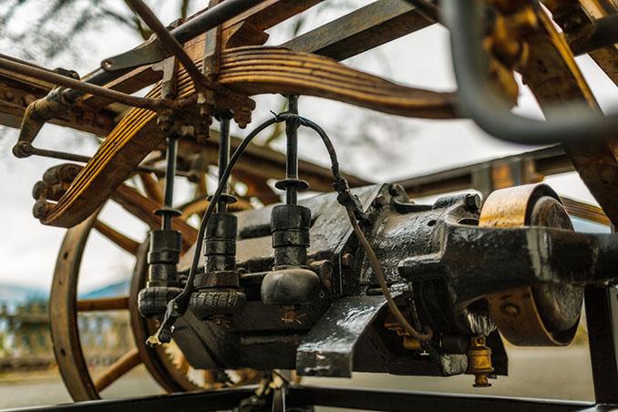 Der Antrieb so simpel wie effektiv. © Porsche
