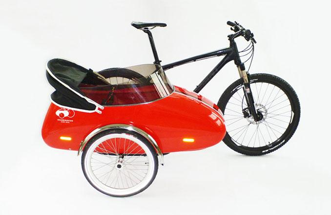 Lastenrad Mal Anders Scandinavian Sidecar Beiwagen Zum Flexibeln