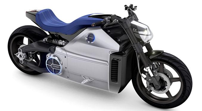 Der Wattmann wirkt nicht nur wie ein Koloss. Seine unbändige Power stammt dabei aus einem Elektromotor © Voxan