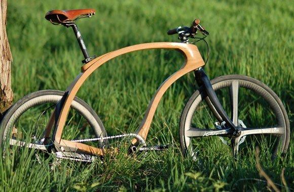 Fahrrad aus Holz von Waldmeister: Rundum nachhaltig