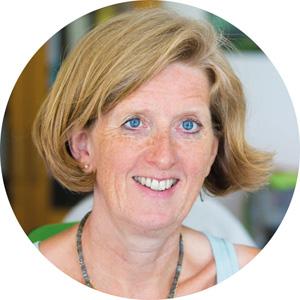 Barbara Engel, sie ist bei der Triaz Group für den Bereich Nachhaltigkeit zuständig.