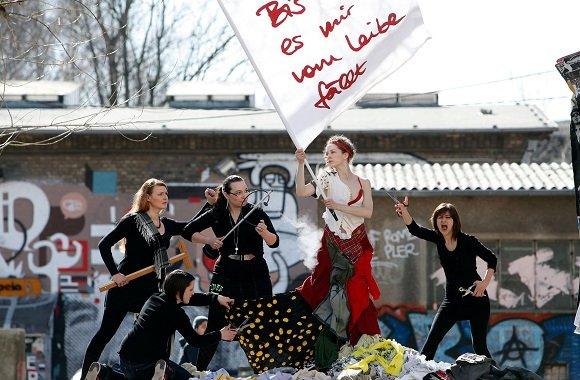 Upcycling-Design aus Lieblingsstücken: Bis es mir vom Leibe fällt aus Berlin