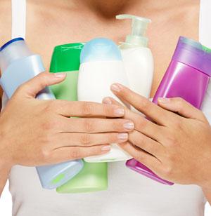 Duschgels mit Mikroplastik