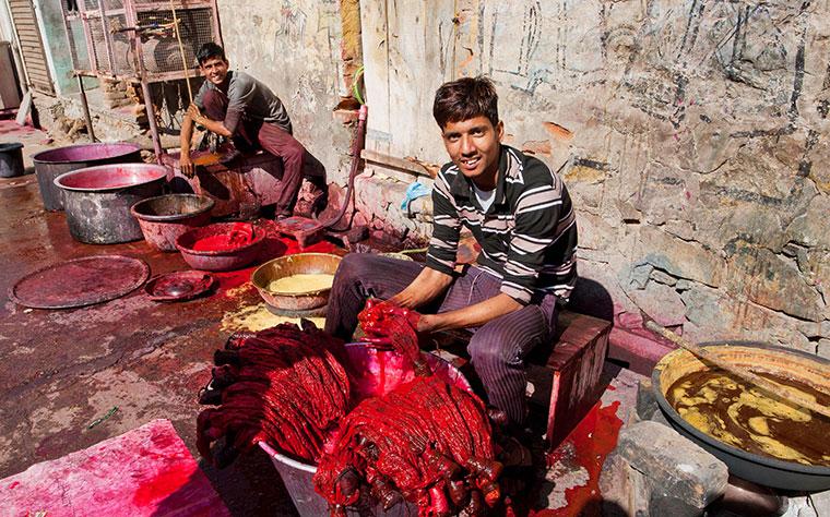 Bessere Arbeitsbedingungen und fairere Löhne für Arbeiter der Textilbranche.