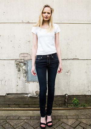 Five-Pocket Jeans dark night