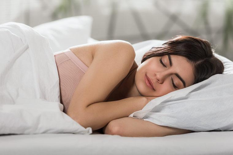 Zellregeneration am Effektivsten über Nacht
