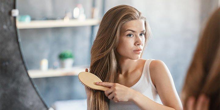 Ist eine Holzbürste gut für die Haare?