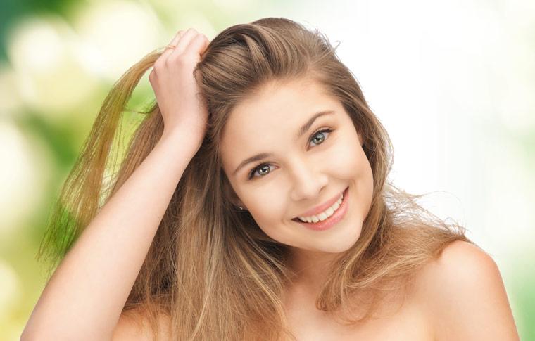 Sheabutter hilft gegen trockenes brüchiges Haar
