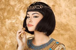 Schönheitspflege und Make-up