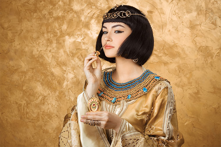 Schon die alten Ägypter liebten es, sich zu pflegen und schminken