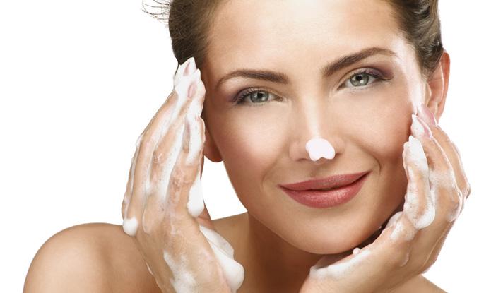 Gesicht waschen ecowoman