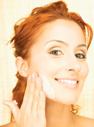 Gesicht waschen woman eco