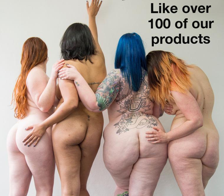 Go Naked eine Werbekampagne für unverpackte Kosmetik provoziert in Australien