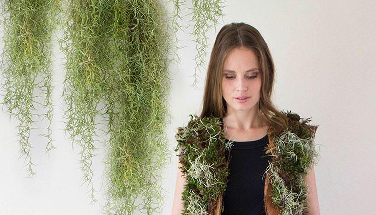 Pflanzenwelt trifft Modedesign