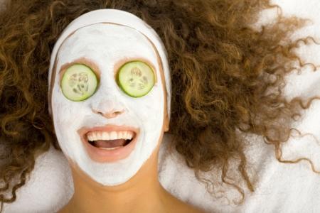 Naturkosmetik selber machen: Gurken Maske und Ggesichtsmaske selber machen