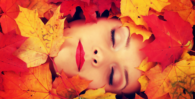 Tolle Haut auch im Herbst