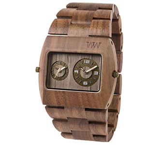 Holzuhren liegen im Trend