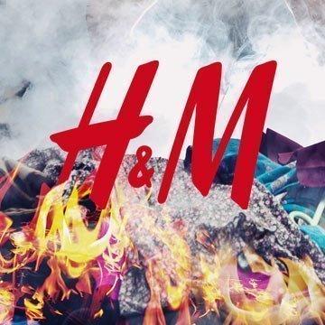 Unfassbar: H&M verbrennt unverkaufte Kleidung!