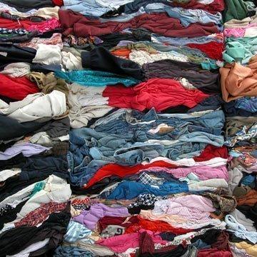 Alte Klamotten haben ein zweites Leben verdient