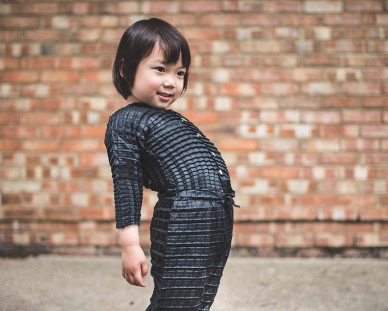 Diese Kleidung wächst mit Ihrem Kind