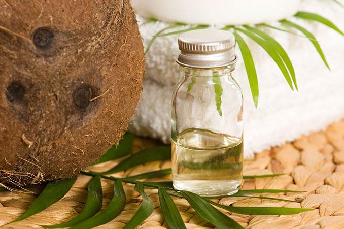 Kokosöl zur Pflege