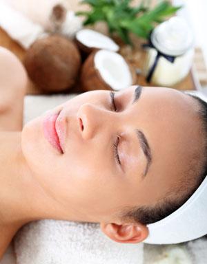 Kokosöl hilft der Haut sich zu regenerieren