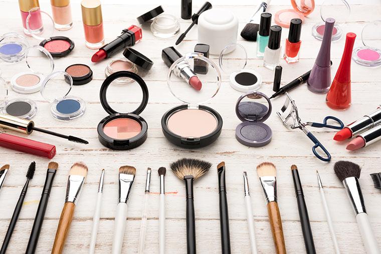 Massenproduktion der Kosmetik