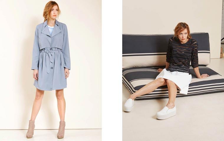 Gewohnt hochwertig und dabei voll im Trend ist die neue Frühjahr-Sommer Kollektion des Kölner Modeunternehmens Lanius.