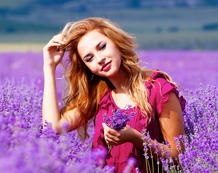 Natürliche Pflege für glänzendes Haar