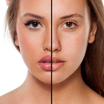 Natürlich schön auch ohne Make-Up?