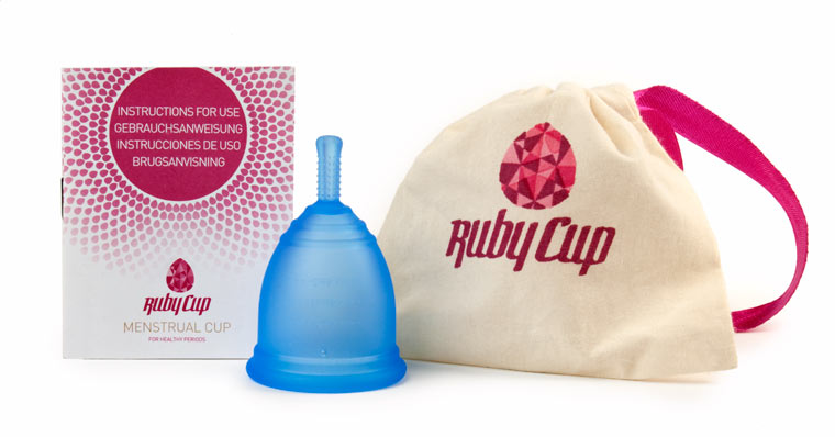 Ruby Cup Menstruationstasse