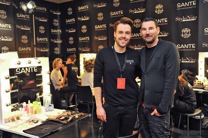 Michael Michalsky und Benjamin Becher © SANTE