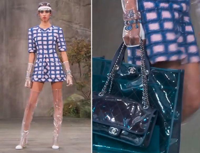 Mode aus Plastik