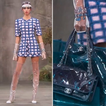 Plastik! Ein erschreckender Modetrend