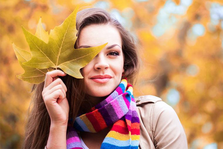 nachhaltig hergestellter Schal